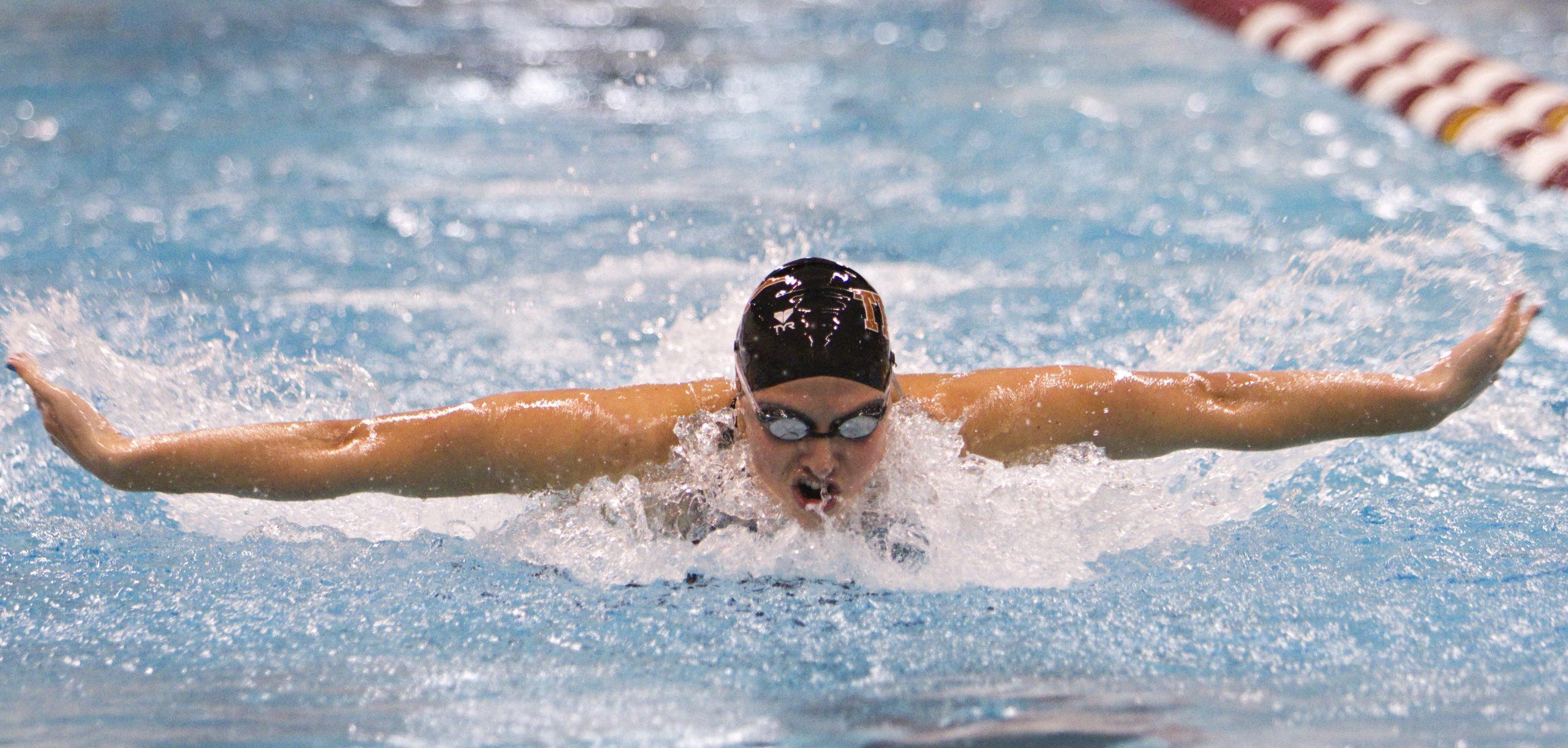 Laura Sogar University of Texas swimming