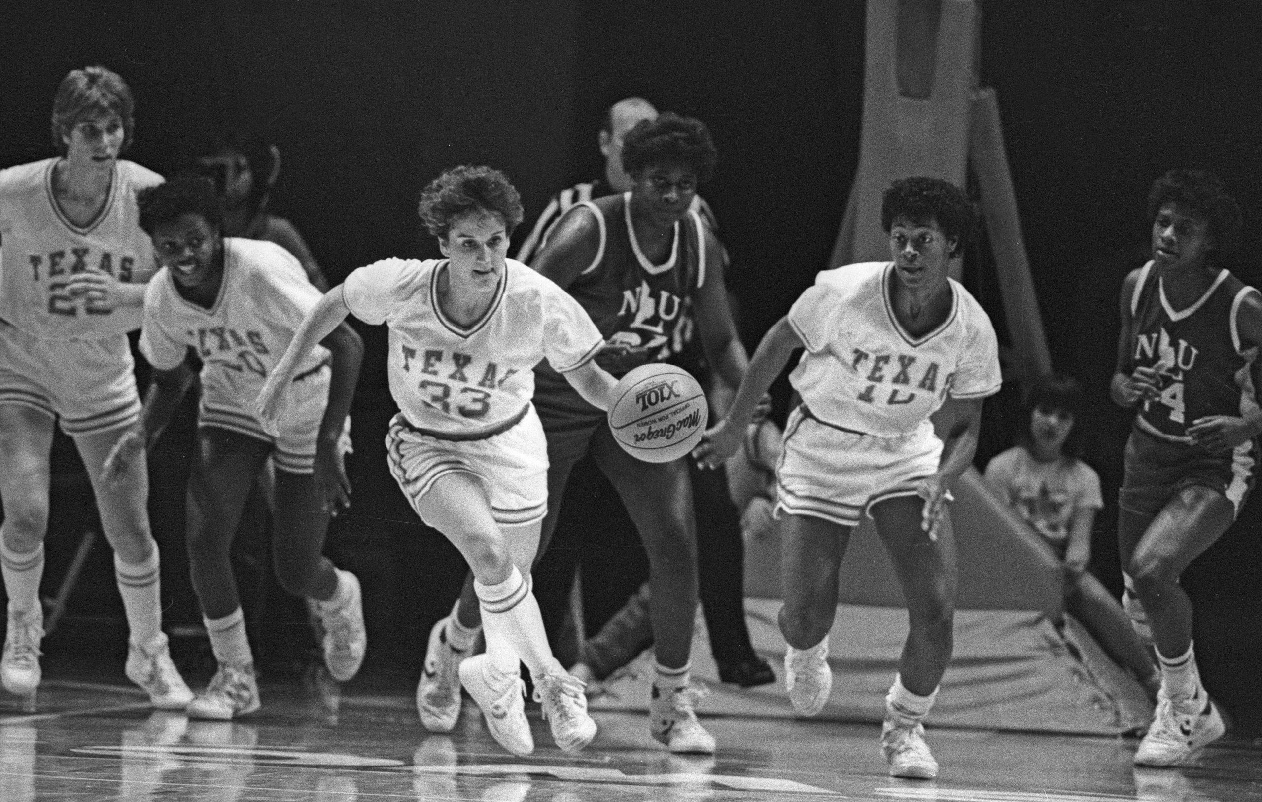 Kamie Ethridge Texas basketball 1986
