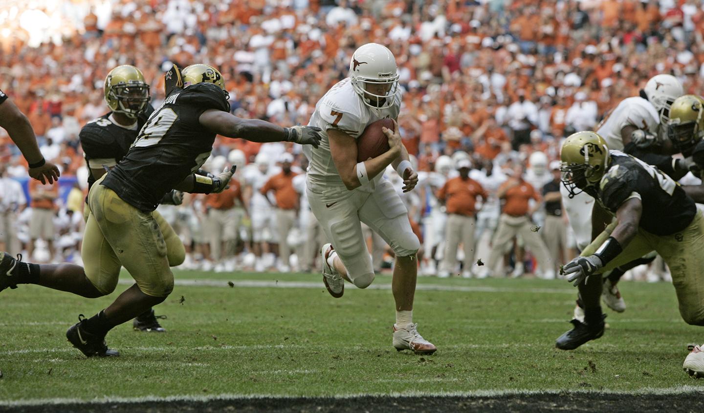 Matt Nordgren University of Texas football