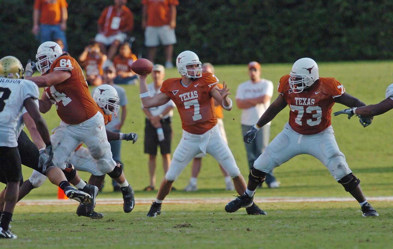 Matt Nordgren University of Texas footbal